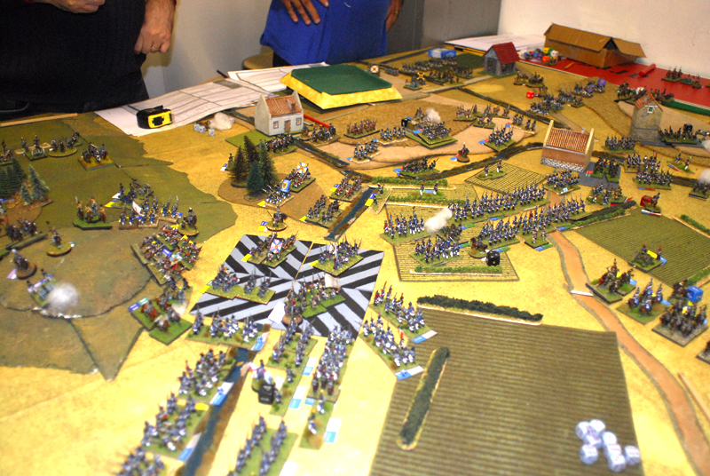 French attacks Ligny ... without success.