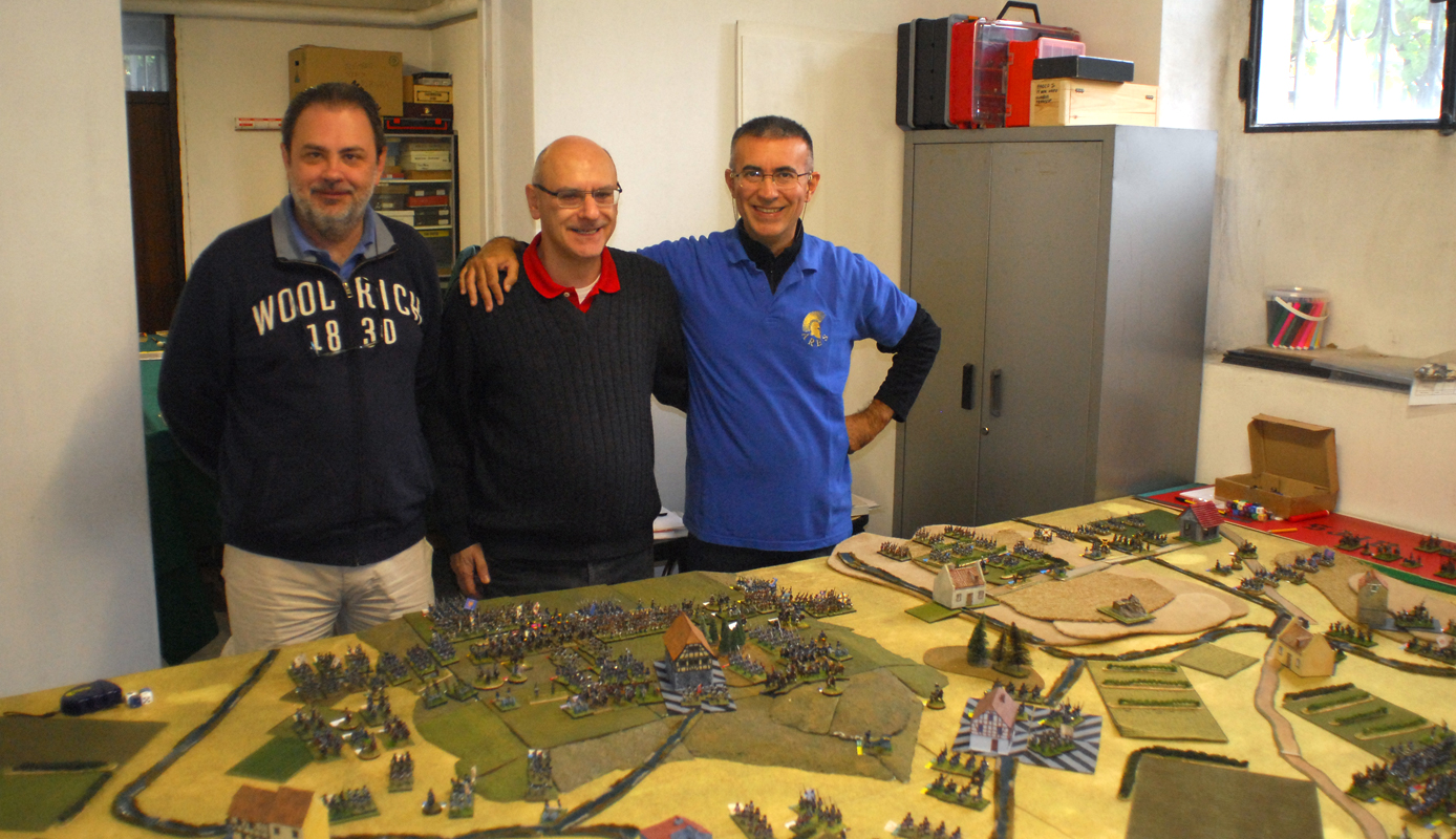"Prussian: Paolo, Roberto, Michele ""Mike Love"""