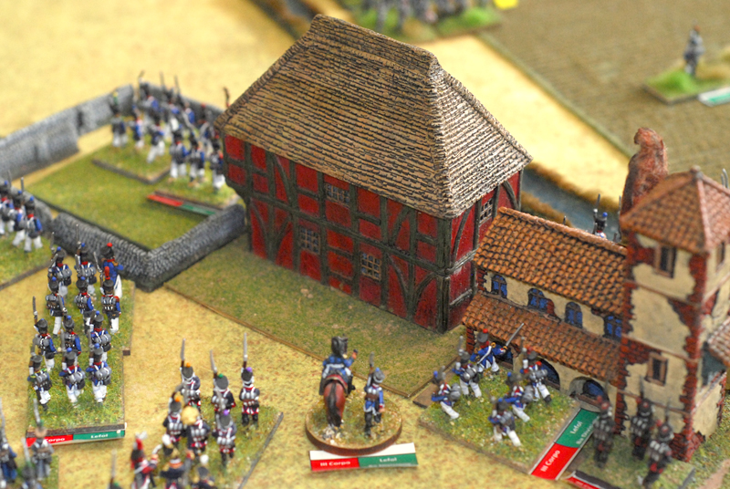 French get Saint Amand after a bloody combat.