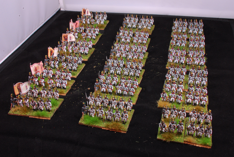 6 regiments in attack column