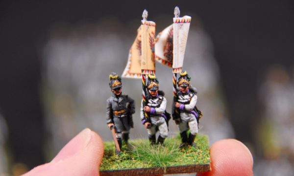 Austrian army 1809 Hungarian and German infantry