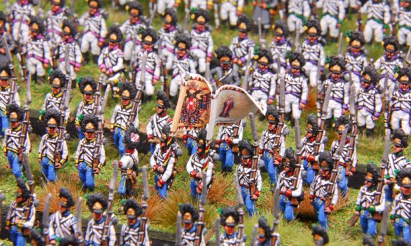 Austrian Landwehr, light troops and Grenadiers